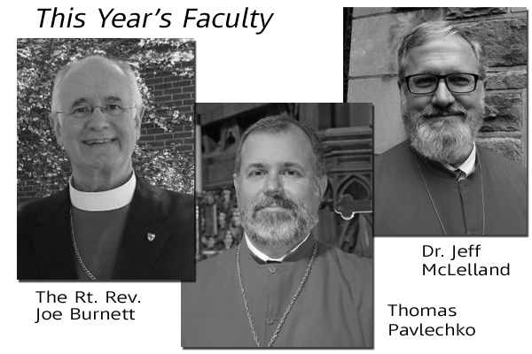 This Year's Faculty
